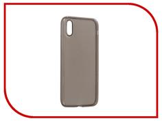 Аксессуар Чехол BROSCO Silicone для APPLE iPhone 8 Black IP8-TPU-BLACK