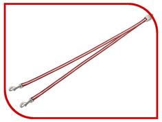 Поводок FLEXI Vario S для двух собак Red 279.598