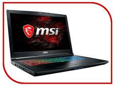 Ноутбук MSI GP72MVR 7RFX-636XRU 9S7-179BC3-636 (Intel Core i7-7700HQ 2.8 GHz/16384Mb/1000Gb/nVidia GeForce GTX 1060 3072Mb/Wi-Fi/Bluetooth/Cam/17.3/1920x1080/DOS)
