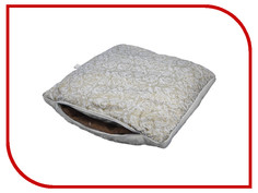 Массажер Smart Textile Лето-Зима Тик/Овечий мех 50x70cm White O677