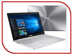 Ноутбук ASUS Zenbook Pro UX501VW-FI234R 90NB0AU2-M04490 (Intel Core i7-6700HQ 2.6 GHz/16384Mb/512Gb SSD/No ODD/nVidia GeForce GTX 960M 2048Mb/Wi-Fi/Bluetooth/Cam/15.6/3840x2160/Windows 10 64-bit)