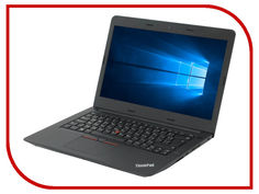 Ноутбук Lenovo ThinkPad Edge E470 20H1007YRT (Intel Core i3-6006U 2.0 GHz/4096Mb/180Gb SSD/No ODD/Intel HD Graphics/Wi-Fi/Cam/14.0/1920x1080/Windows 10 64-bit)