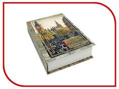 Шкатулка Эврика Сейф-книга Английский словарь Лондон 98358 Evrika