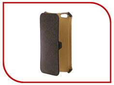 Аксессуар Чехол Snoogy иск. кожа Black для APPLE iPhone 6/6s SN-iPhb-6/6s-BLK-LTH