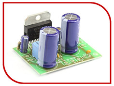 Конструктор УНЧ Радио КИТ RS207 одноканальный 100/140 Вт на TDA7294/TDA7293