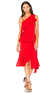 Асимметричное платье one shoulder - GOEN.J