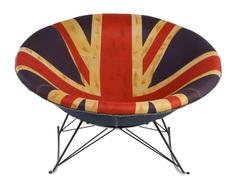 "Кресло-качалка ""Greg UK Flag"" M Style"
