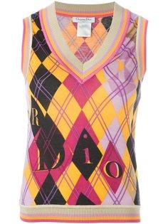 вязаный топ  Christian Dior Vintage