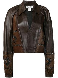 куртка с вырезами  Christian Dior Vintage