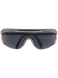 oversized viser sunglasses Christian Dior Vintage