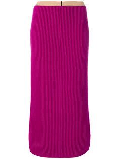 удлиненная трикотажная юбка Calvin Klein 205W39nyc