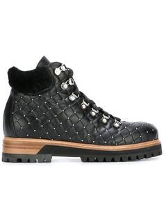 89cfbe8a8dc8 Женские ботинки стеганые – купить ботинки в интернет-магазине   Snik.co