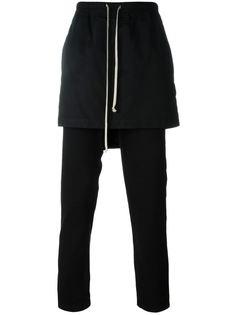 брюки с юбкой Rick Owens DRKSHDW