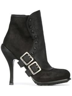 ботинки с ремешками Christian Dior Vintage