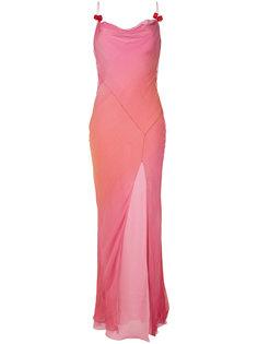 платье макси Christian Dior Vintage