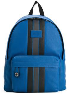 рюкзак на молнии с полосатой отделкой Coach