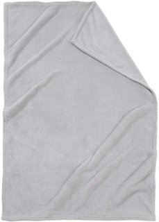Плед Словно кашемировый (серый) Bonprix