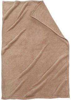 Плед Словно кашемировый (коричневый) Bonprix