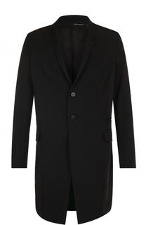 Шерстяное однобортное пальто Isabel Benenato