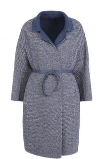 Шерстяное пальто с поясом Loro Piana