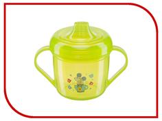 Тренировочная кружка с крышкой Happy Baby Training Cup Lime 14001 4650069780595
