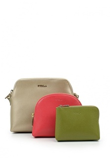 Комплект 2 косметички и 1 сумка Furla