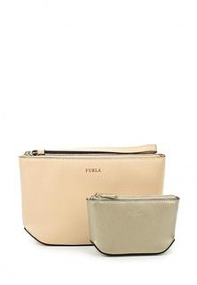 Комплект косметичка и кошелек Furla