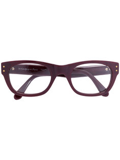 "очки с оправой ""вайфарер"" Yves Saint Laurent Vintage"