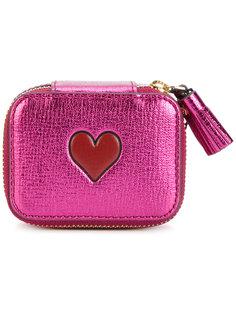 кошелек с сердцем Anya Hindmarch