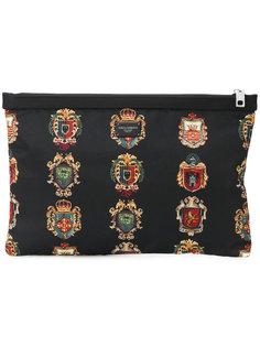 клатч с принтом Dolce & Gabbana