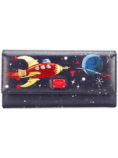 кошелек с рисунком ракеты Dolce & Gabbana