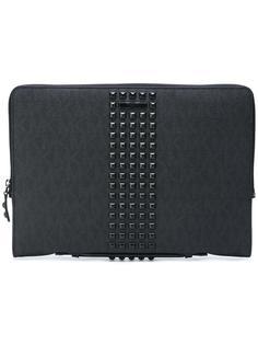 сумка для ноутбука с заклепками Michael Kors