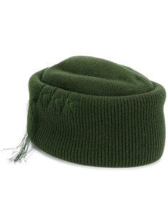 шапка с бахромой и вышивкой звезд Golden Goose Deluxe Brand
