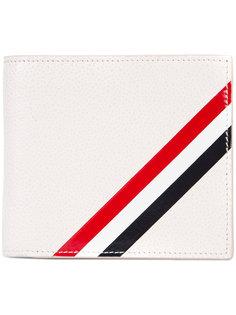бумажник с деталью в полоску Thom Browne
