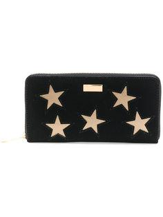 кошелек с нашивками звезд Stella McCartney
