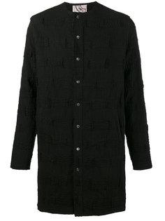 удлиненная рубашка-туника By Walid