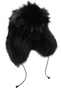 Меховая шапка-ушанка Dsquared2