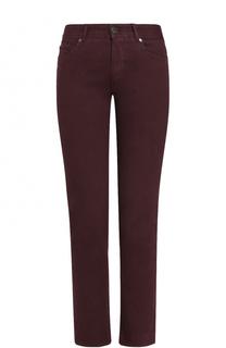 Однотонные джинсы прямого кроя Loro Piana