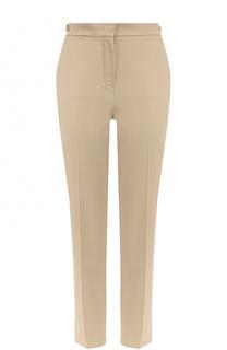 Укороченные брюки прямого кроя со стрелками Loro Piana