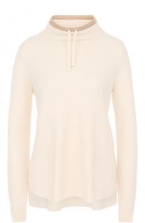 Кашемировый пуловер свободного кроя Loro Piana