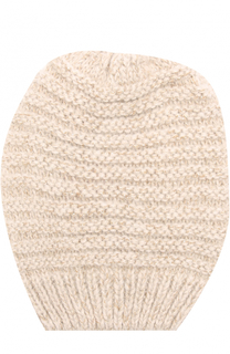 Вязаная шапка с отделкой металлизированной нитью Deha