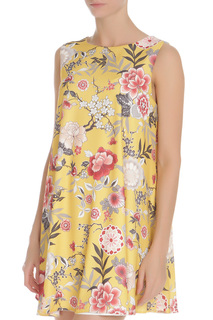 Короткое летнее платье с рисунком GIRLS ON FILM