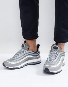 Серебристые кроссовки Nike Air Max 97 Ultra 17 918356-003 - Серебряный