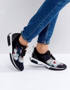 Черные тканевые кроссовки Ted Baker Cepap - Черный