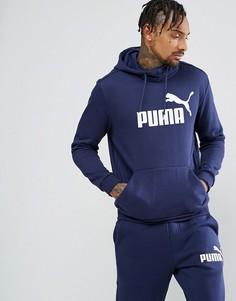 Худи темно-синего цвета Puma ESS No.1 83825706 - Темно-синий
