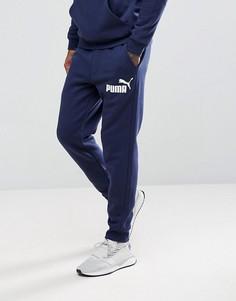 Темно-синие джоггеры Puma ESS No.1 83826406 - Темно-синий