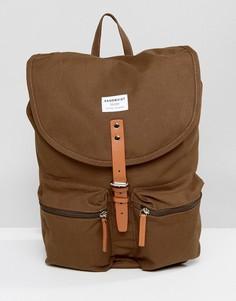 Зеленый рюкзак Sandqvist Roald - Зеленый