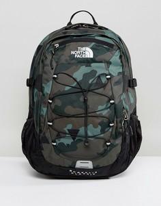 Зеленый классический рюкзак с камуфляжным принтом объемом 29 л The North Face Borealis - Зеленый
