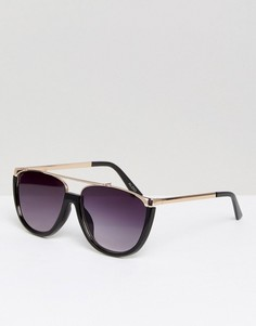 Металлические солнцезащитные очки ALDO Migliuso - Черный