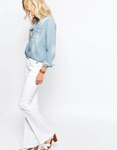 Джинсы-клеш с карманом спереди Pepe Jeans Melissa - Белый